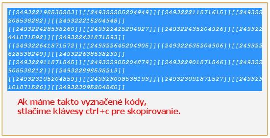 Facebook kódy