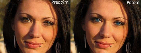 Zmena farby očí