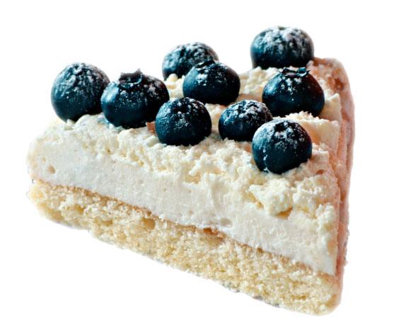 Torta - biele pozadie