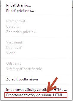 exportovat-zalozky-do-html